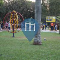 Maringá - Calisthenics-Stationen - Academia ao Ar Livre - Praça Teatro Barracão