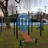 Порриньо - Воркаут площадка - Travesía do Matadero