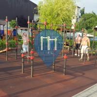Budapest - Parc Calisthenics - Gesztenyés-kert