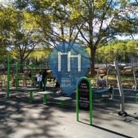 New York City - Adult Workout Stations - Jamaica Avenue