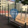 Rīga - Outdoor Calisthenics Workout Spot - Vidusskola