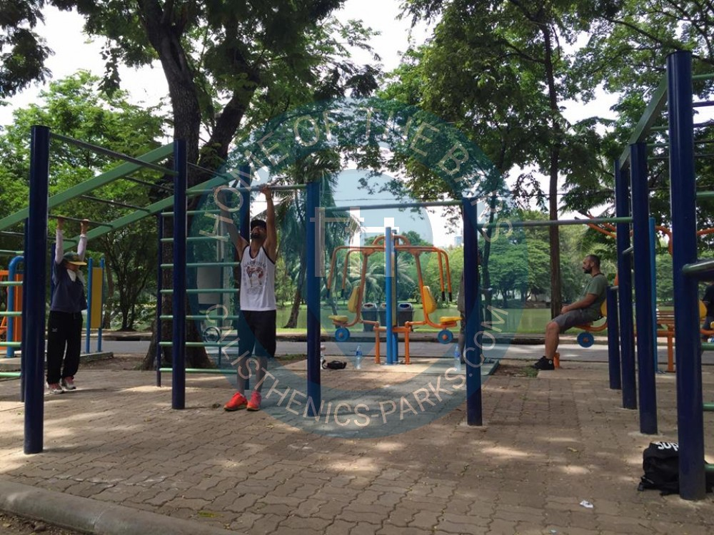 Bangkok - Calisthenics Park - Lumpini Park - Thailand