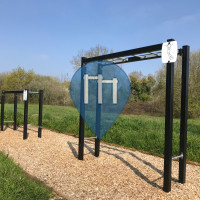 Sallertaine - Palestra all'Aperto - Monkey Bars
