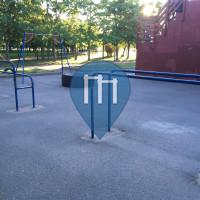 Ginásio ao ar livre - São Petersburgo - Park 300-Letiya Sankt-Peterburga