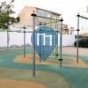 贝特拉 - 徒手健身公园 - Bétera Street Workout Park - C/ Castelló esq. Av. Valencia