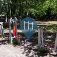 Parque Calistenia - Finsterwalde - Waldspielplatz an der Bürgerheide
