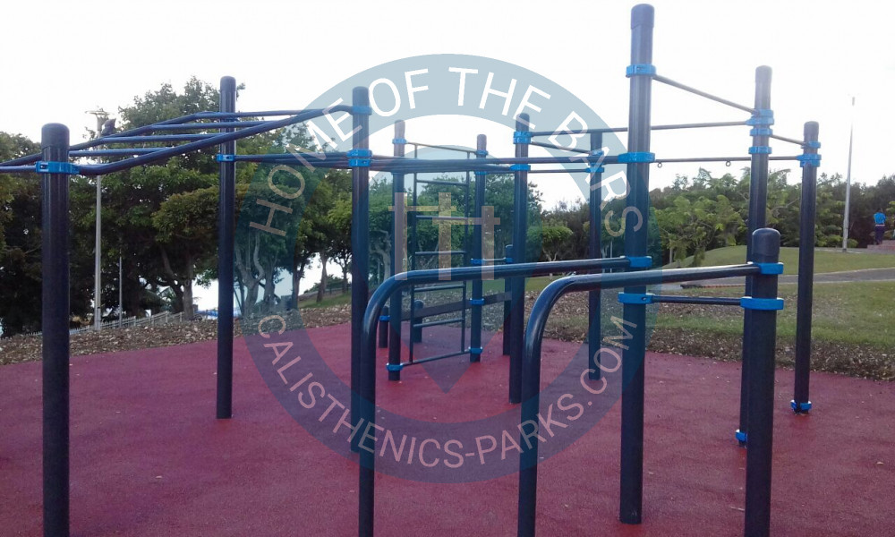 le gosier guadeloupe calisthenics park parc paysager du calvaire frankreich spot. Black Bedroom Furniture Sets. Home Design Ideas