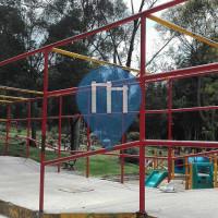 Bogota - Outdoor-Fitness-Anlage - Parque Nacional Enrique Olaya Herrera