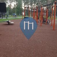 Parc Street Workout - Daugavpils - Stropi lake workout
