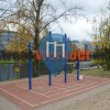 Berlin - Outdoor pull up bars - Moabit