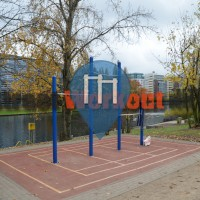 Berlin - Outdoor pull up bars - Moabit