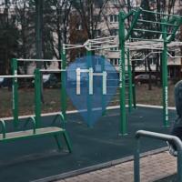 Ostrava - Marianske Hory - Street Workout Park - RVL 13