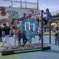 Philadelphia - Outdoor Exercise Park - Smith Playground