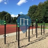 Hamburg - Calisthenics Park - Hammer Park