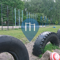 Riga - Outdoor jungle gym - 88th Secondary School