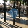 New York City - Outdoor-Fitness-Platz - Pierrepont Playground's workout facility