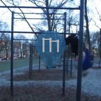 Oslo – Calisthenics Park – St.Hanshaugen
