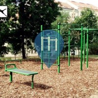 Prag - Calisthenics Park - Bezrucovy sady