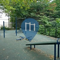 New York - Street Workout Exercise Stations - St. Michael's Playground