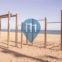 Badalona - Gym en plein air - Platja del Pont de la Botifarreta