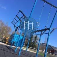 Espoo - Outdoor Fitnessstation - FC Honka