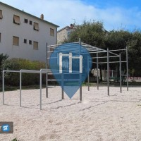 Pujanke (Split) - Street Workout Geräte - Tijardovićeva