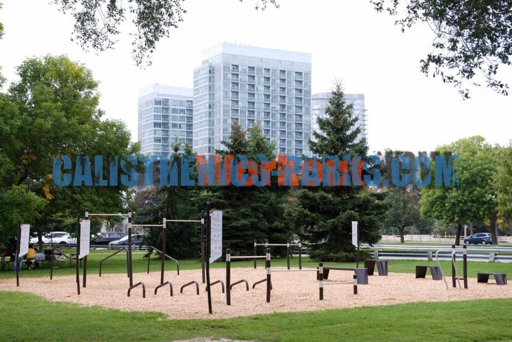 Toronto Calisthenics Park Sir Casimir Gzowski Park
