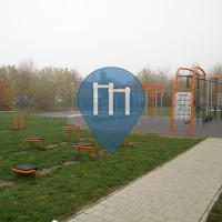 Воркаут площадка - Эрланген - Calisthenics Geräte Vitalpark