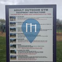 Турник / турники - Левин - Outdoor Fitness Levin Adventure Park
