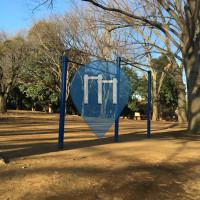 Tokyo - Barra per trazioni all'aperto - Komazawa Olympic Park