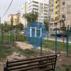 Воркаут площадка - Бишкек - Outdoor Fitnesss Bischkek