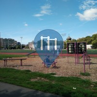 New York (Williamsburg) - Barstarzz Exercise Station -  Mc Carren Park
