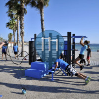 西富尔斯-勒普拉热 - 户外运动健身房 - Plage - Aire de fitness en accès libre