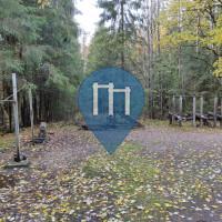 Воркаут площадка - Лахти - Kerinkallio training spot