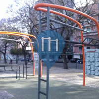 Lisbon - Outdoor Fitness Workout Park - Jardim Amalia Rodrigues