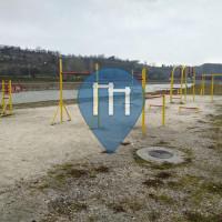 Скопье - Воркаут площадка - Vardar Trail