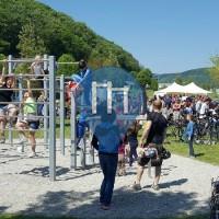 Yps an der Donau - Street Workout Park - Playparc - Donaulände