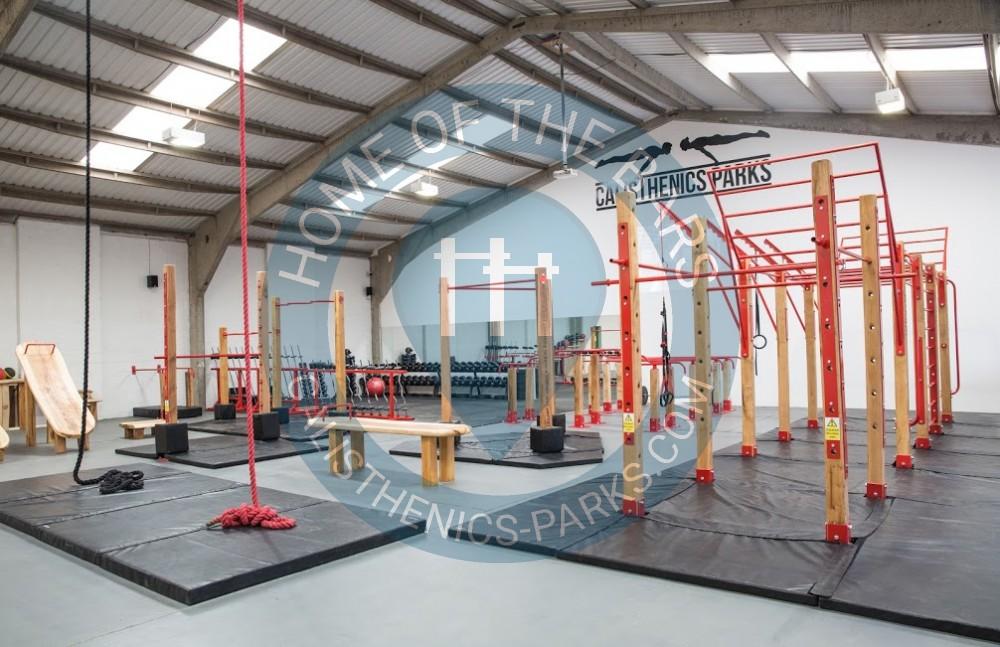 Indoor hull calisthenics parks drypool bodyweight