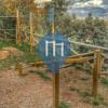 Турник / турники - Пьетра-Лигуре - Percorso vita all' interno del parco del trabocchetto
