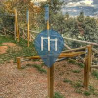 Outdoor Fitness Park - Pietra Ligure - Percorso vita all' interno del parco del trabocchetto