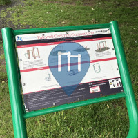 Barra per trazioni all'aperto - Londra - Palewell Common Outdoor Gym