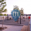 New York - Outdoor Exercise Gym - Hunters Point, Long Island City
