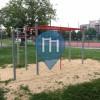 Воркаут площадка - Miasto Zamość - Outdoor Gym Drążki przy gimnazjum nr. 2