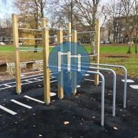 Rotterdam - 徒手健身公园 - Vroesenpark