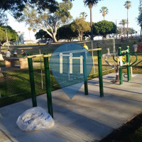 Long Beach - Parc Calisthenics - Bixby Park
