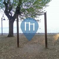 Sirmione - Outdoor Pull Up Bars - Lake Garda