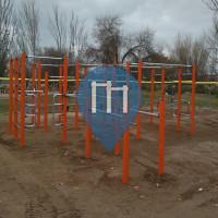 Santa Coloma de Gramenet - Calisthenics Geräte - Parc de Can Zam