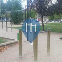 Outdoor Pull Up Bars - Zaragoza - Parque de la Aljaferia