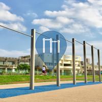 Okinawa - 户外单杠 - Wakanatsu Park