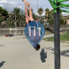 Barre de traction en plein air - Chiavari - Outdoor Fitness Spiaggia Chiavari